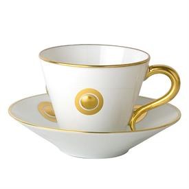 -SET OF 6 COFFEE CUPS & SAUCERS.
