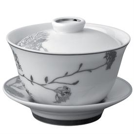 -COVERED/CHINESE CUP & SAUCER