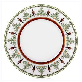 -ACCENT SALAD PLATE, RED STRIPE