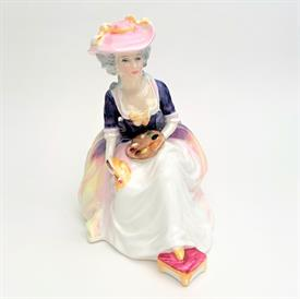 ",HN2335 HILARY FIGURINE. DESIGNED BY M. DAVIES. PRODUCED FROM 1967-1981. 7.5"" TALL"