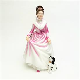 ",HN3608 'GOOD COMPANION' LADY AND DOG FIGURINE FROM THE VANITY FAIR SERIES. CA. 1994-1999. 8.5"" TALL"