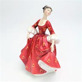 ",HN2811 'STEPHANIE' FIGURINE. RETIRED. 7.25"" TALL"