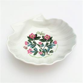 ,SET OF 6 DRUM TEA CUPS & SAUCERS. INCLUDES FORGET-ME-NOT, RHODODENDRON, SPEEDWELL, HEARTSEASE, BROOM, & SCARLET PIMPERNEL