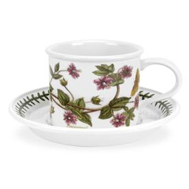 ,DRUM TEA CUP & SAUCER IN 'PIMPERNEL'. HARD TO FIND