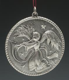 ,2004 WINGED ANGEL STERLING SILVER BUCCELLATI ORNAMENT 3.25""