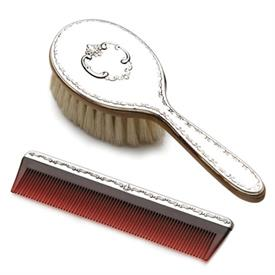 -,$ Girls Comb & Brush Set Sterling Silver made in Chantilly by Gorham