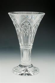 ",ROCK OF CASHEL FROM THE ROMANCE OF IRELAND COLLECTION.10""TALL ETCHED WATERFORD SLIGHT CHIP ON RIM"