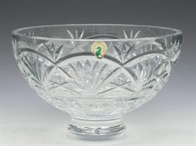 ",FOOTED ROUND BOWL 7""D X 5""T"
