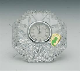,DIAMOND PAPERWEIGHT QUARTZ CLOCK 3.25""