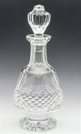 ,MAUVE BRANDY DECANTER 12""