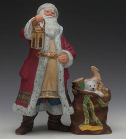 "GRANDFATHER FROST SANTA. 8.5"" TALL"