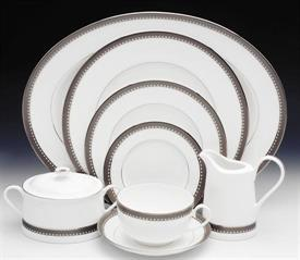 _,53PC SET SPECIAL. 10 - 5PC PLACE SETTINGS + CREAMER, COVERED SUGAR BOWL & LARGE OVAL PLATTER. REGULAR PRICE $1480