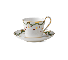 -HIGH HANDLE CUP & SAUCER