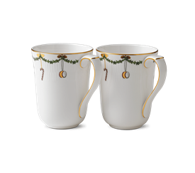 -PAIR OF MUGS