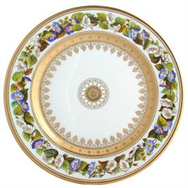 -DINNER PLATE, MORNING GLORY. 10.5""