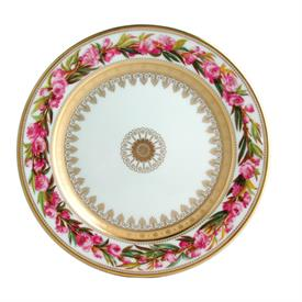 -SALAD PLATE, PEACH TREE FLOWER. 8.5""