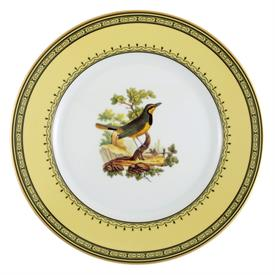 -DINNER PLATE, COLLARED BLACKBIRD. 10.5""
