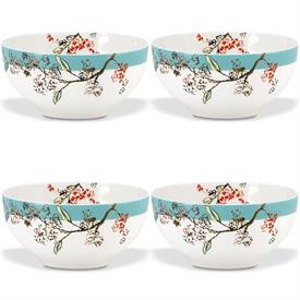 -SET OF 4 DESSERT BOWLS. MSRP $72.00