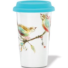 -THERMAL TRAVEL MUG. 12 OZ. CAPACITY. MSRP $20.00
