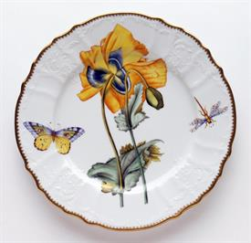 -YELLOW POPPY DINNER PLATE