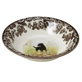 -CEREAL BOWL, BLACK LABRADOR RETRIEVER