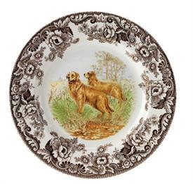 -SALAD PLATE, GOLDEN RETRIEVER