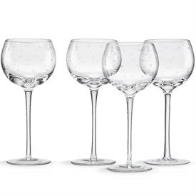 -SET OF 4 WINE GLASSES