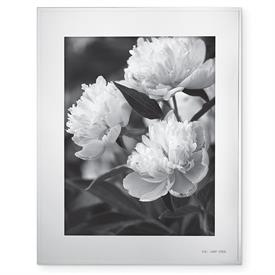 "-8X10"" FRAME IN SILVER PLATED ZINC ALLOY. BREAKAGE REPLACEMENT AVAILABLE."