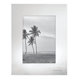 "-5X7"" FRAME IN SILVER PLATED ZINC ALLOY. BREAKAGE REPLACEMENT AVAIALBLE."