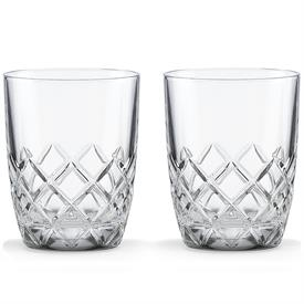 -DOUBLE OLD FASHIONED, PAIR.