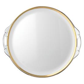 -CAKE PLATE WITH HANDLES.