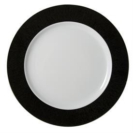 -BLACK SERVICE PLATE. 32 cm.