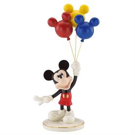 ",_UP, UP, & AWAY WITH MICKEY. 12"" TALL. MSRP $140.00"
