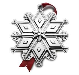 "_2017 3rd Edition Tuttle Snowflake Pantheon Sterling Silver. 3.25"" Wide by 3.5"" High. MSRP $240.00"