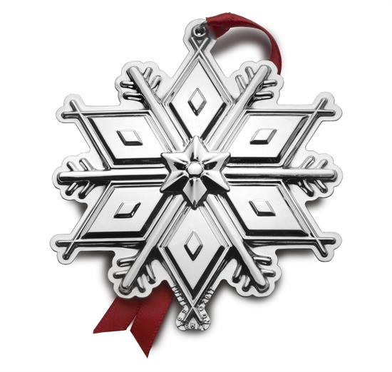 """Tuttle 2017 3rd Edition Tuttle Snowflake Pantheon Sterling Silver. 3.25"""" Wide by 3.5"""" High. MSRP $240.00"""