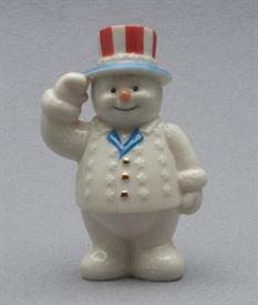 JULY 12 MONTHS OF SNOWMEN FIGURINE
