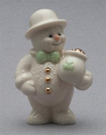 MARCH 12 MONTHS OF SNOWMEN FIGURINE