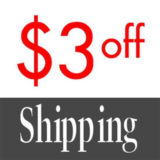 Miscellaneous DEDUCT $3 OFF SHIPPING expires December 31st, 2018