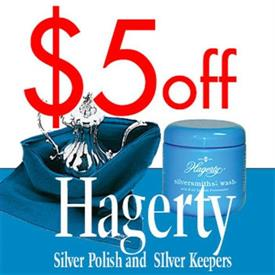 _DEDUCT $5 OFF YOUR ORDER OF SILVER FLATWARE IF YOU INCLUDE ANY POLISH OR SILVER KEEPING PRODUCTS FROM HAGERTY  expires December 31st, 2019