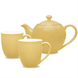 -TEA FOR TWO SET. INCLUDES ONE SMALL TEAPOT & TWO MUGS