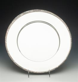 ",SET OF 4 CHARGER PLATED 12.5"" DIAMETER SILVER PLATED MADE BY WATERFORD"