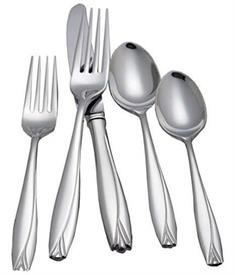 ,5PC PLACE SETTING, NEW FROM DISPLAY