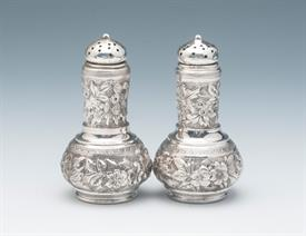 ",SALT & PEPPERS STERLING SILVER BY WHITING 3.25"" TALL 3.05 TROY OUNCES"