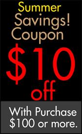 _Sale Coupon Take $10 off your Purchase of $100 or more, limit one coupon per customer per sale event.
