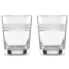 -2-PIECE DOUBLE OLD FASHIONED GLASS SET. 10 OZ. CAPACITY. BREAKAGE REPLACEMENT AVAILABLE.
