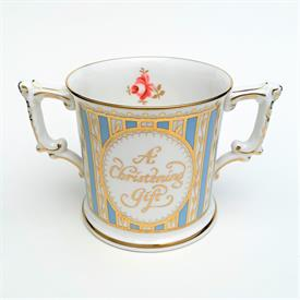 _,BLUE CHRISTENING LOVING CUP.