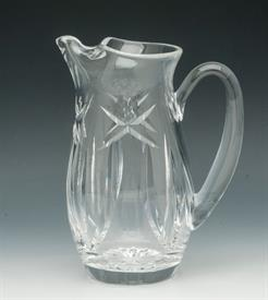 ",WATER PITCHER WITH ICE LIP 7.5""TALL"