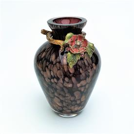 ",VASE 4"" WITH FLORAL BAND"
