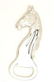 "-3222 HORSE HEAD BOTTLE OPENER SILVER PLATED 5.25""LONG."