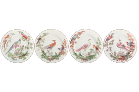 -SET OF 4 BREAD & BUTTER PLATES